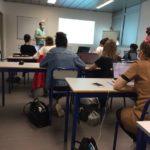 Cours à l'Université Bordeaux 2